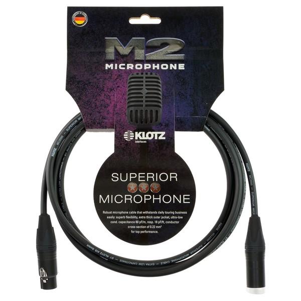 Klotz M2FM1 XLR Microphone Cable, 1m
