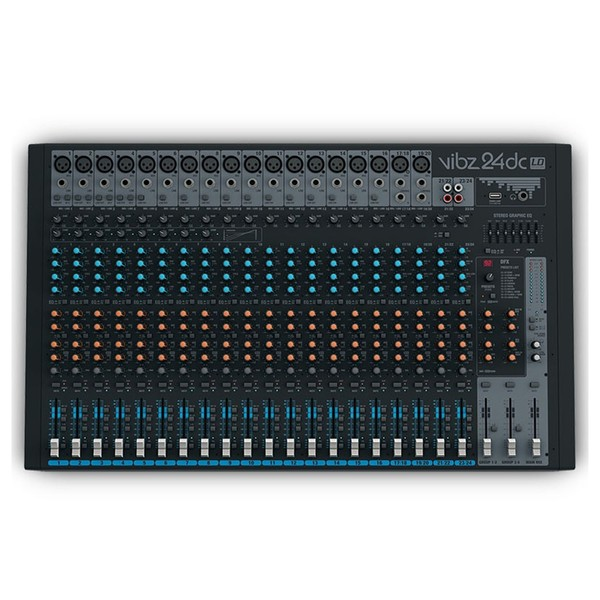 LD Systems VIBZ 24 DC 24 Channel Mixer