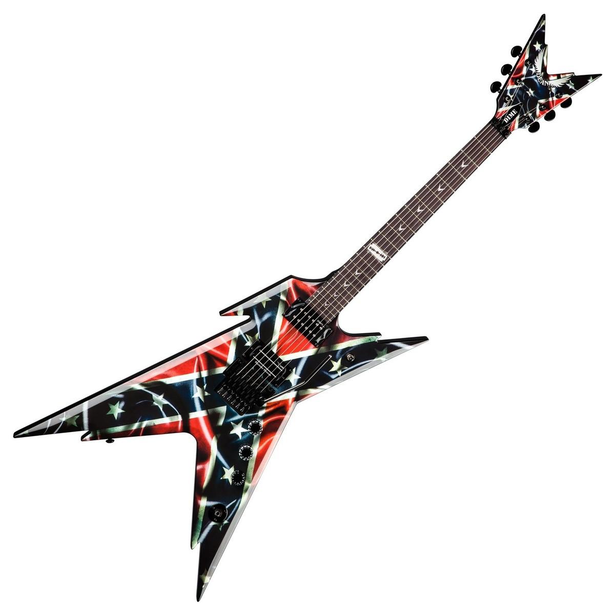 dean dimebag razorback electric guitar rebel at. Black Bedroom Furniture Sets. Home Design Ideas