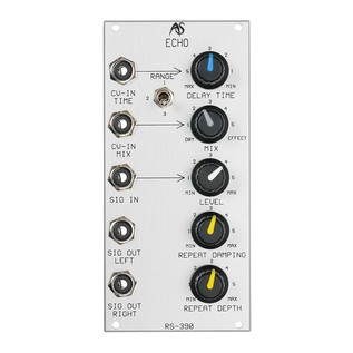 Analogue Systems RS-390 Echo Module Front