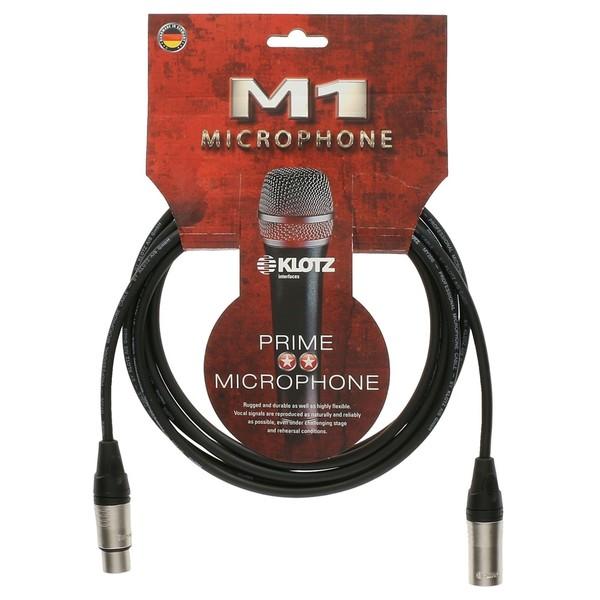 Klotz M1K1FM XLR Microphone Cable, 3m