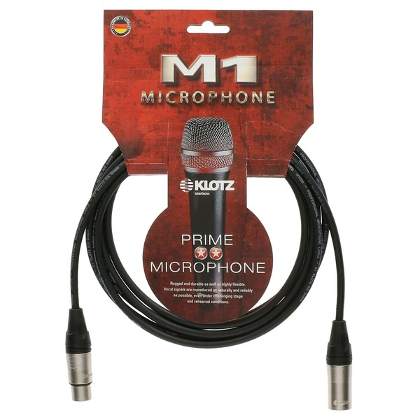 Klotz M1K1FM XLR Microphone Cable, 10m