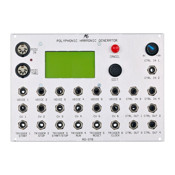 Analogue Systems RS-370 Polyphonic Harmonic Generator Front