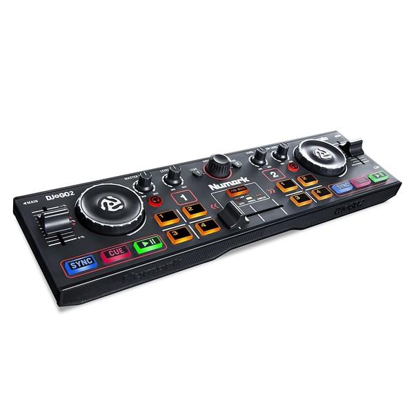 Numark DJ2GO 2 Portable DJ Controller - Main (Angled)