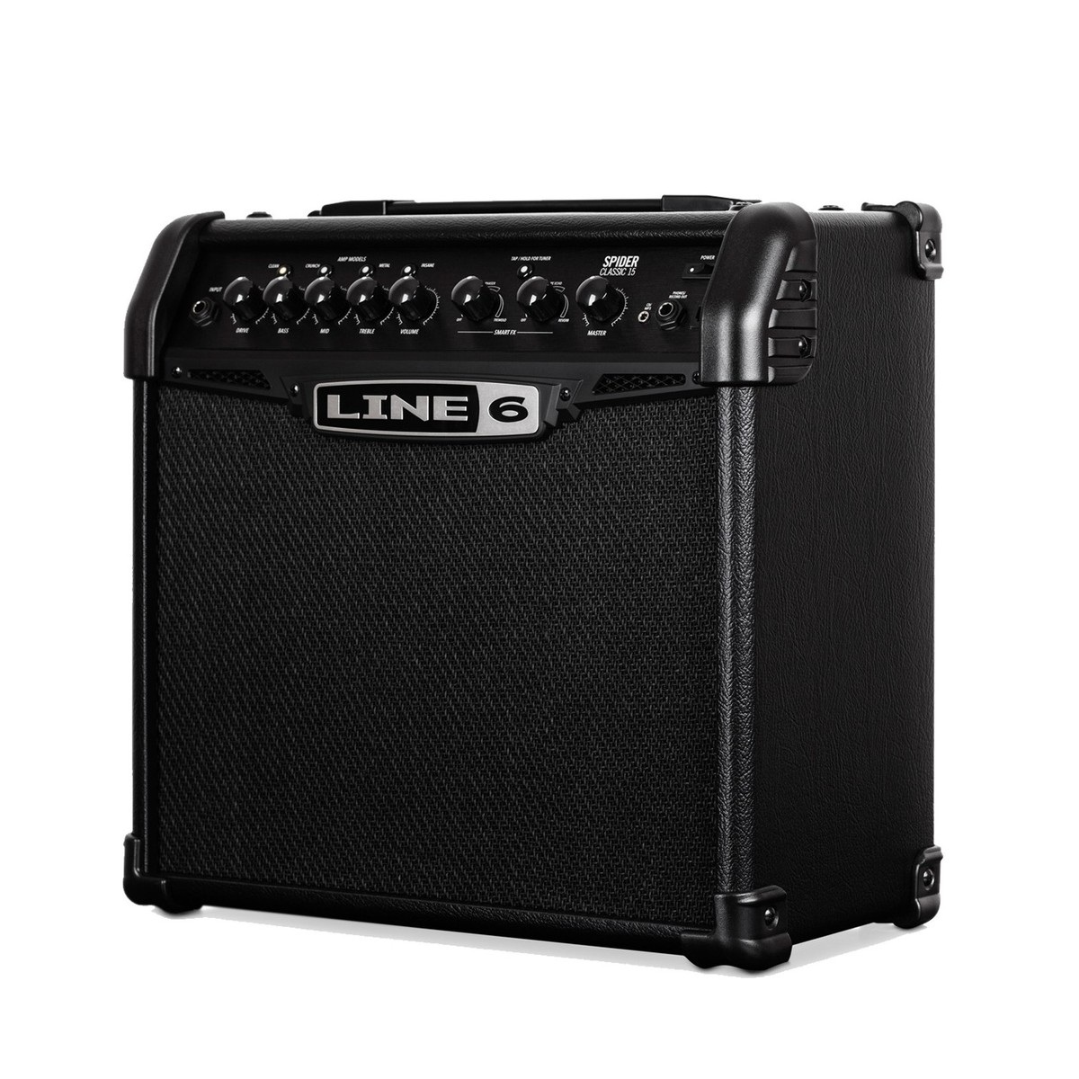 line 6 spider classic 15 guitar combo amp box opened at gear4music. Black Bedroom Furniture Sets. Home Design Ideas