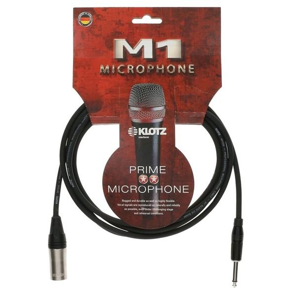Klotz M1MP1K XLR - Jack Microphone Cable, 3m