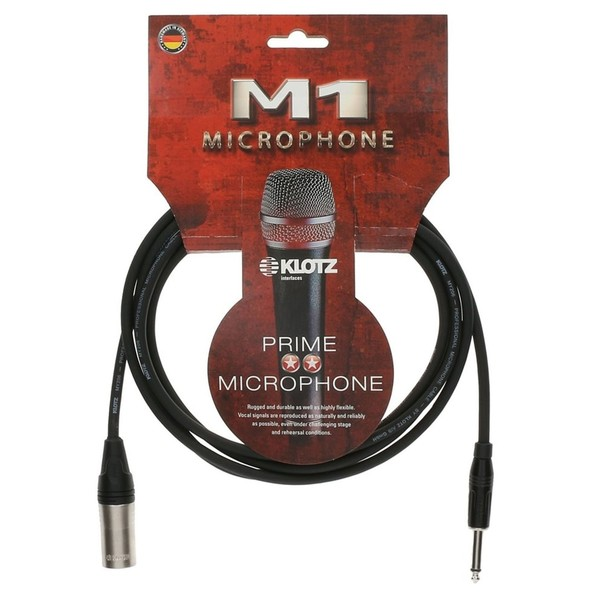 Klotz M1MP1K XLR - Jack Microphone Cable, 10m