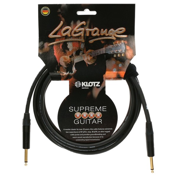 Klotz LaGrange Guitar Cable, 6m
