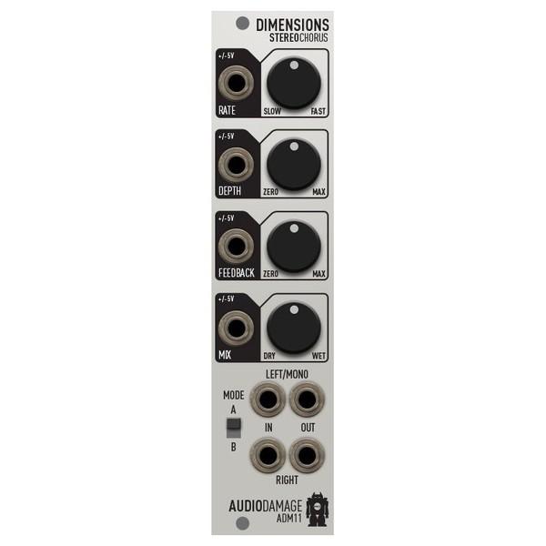 Audio Damage ADM11 Dimensions 1