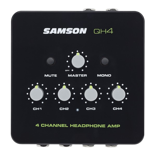 Samson QH4 4-Channel Headphone Amp 1