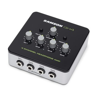Samson QH4 4-Channel Headphone Amp 2