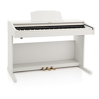 Roland RP501R Digital Piano, Contemporary White