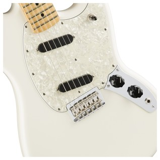 Fender Mustang Electric Guitar, White