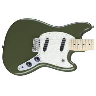 Fender Mustang, MN, Olive