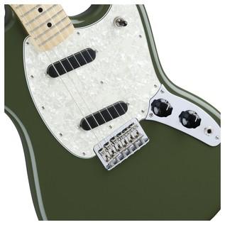 Fender Mustang Guitar, Olive