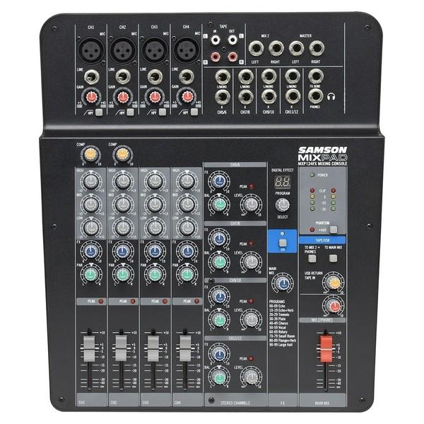 Samson MixPad MXP124FX Mixer, Front