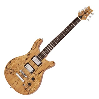 Pasadena Electric Guitar by Gear4music, Spalted Maple