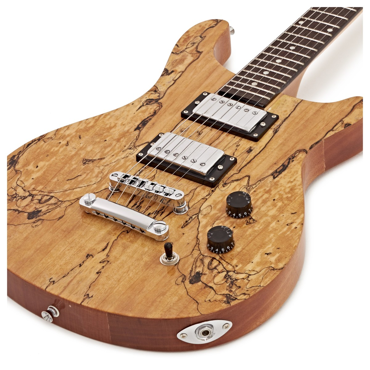 pasadena electric guitar by gear4music spalted maple at gear4music. Black Bedroom Furniture Sets. Home Design Ideas