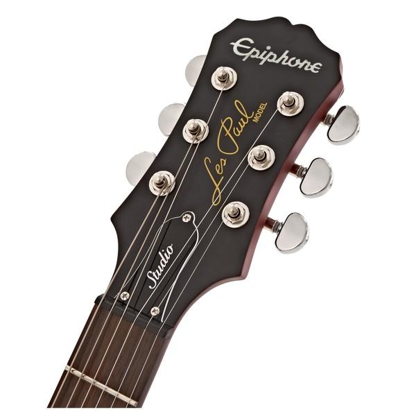Epiphone Les Paul Studio Electric Guitar, Worn Cherry