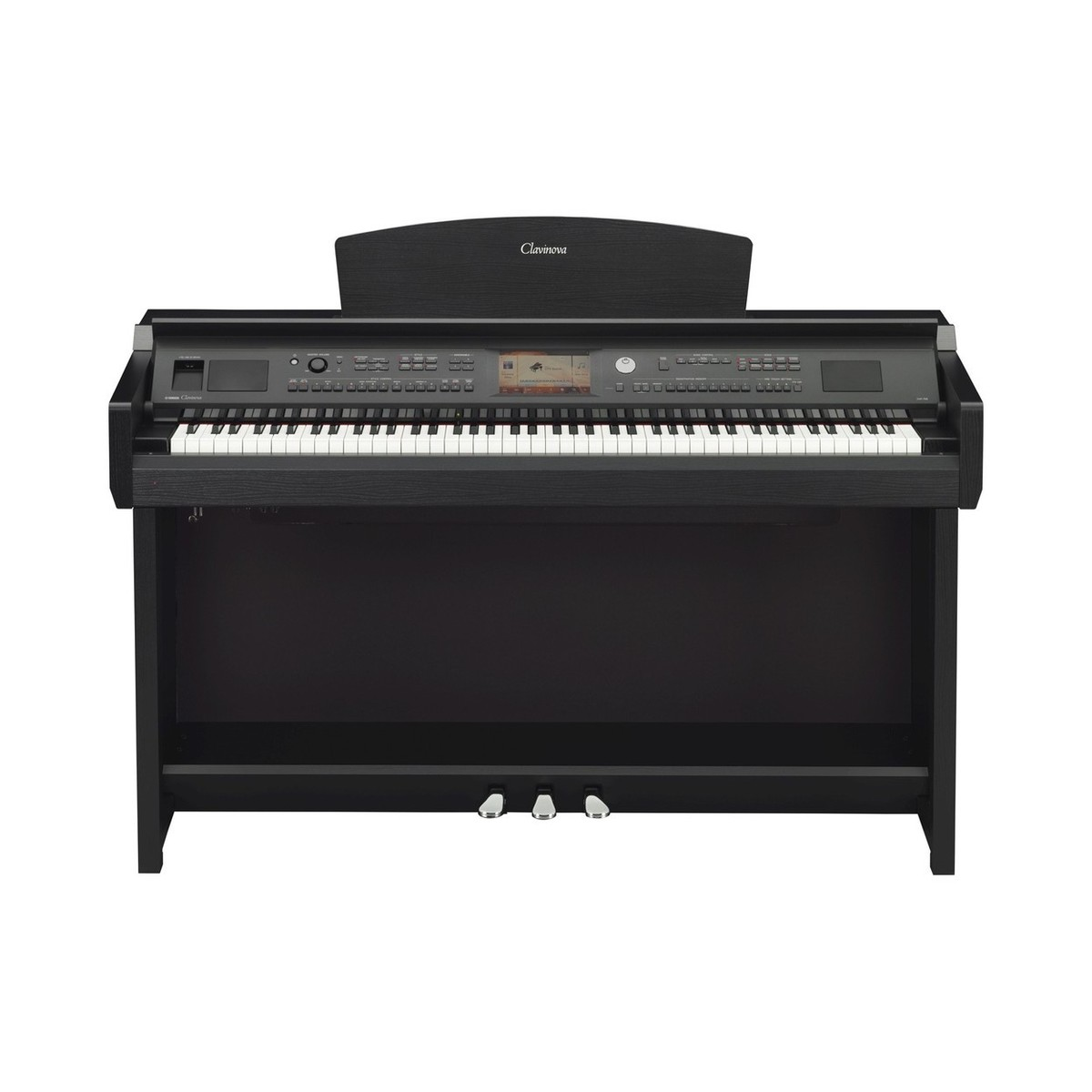 yamaha cvp 705 clavinova digital piano pack black walnut. Black Bedroom Furniture Sets. Home Design Ideas