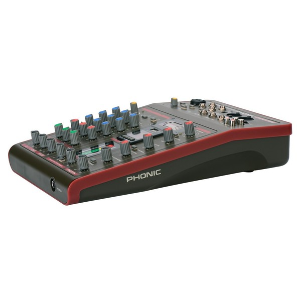 Phonic Celeus Tube Analog Mixer with USB Recorder and Bluetooth