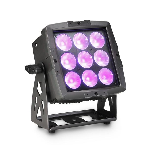 Cameo Flat Pro Flood 600 IP65 Outdoor Flood Light, Black 1