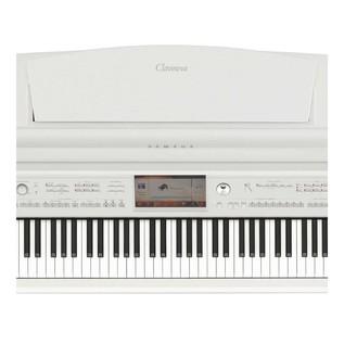 Yamaha CVP709 Piano Controls