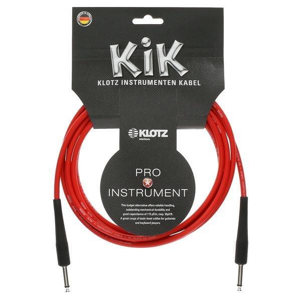 Klotz KIK Blue Instrument Cable 1