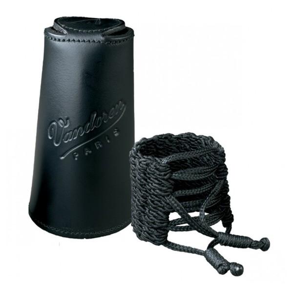 Vandoren Klassik Clarinet Bb Ligature, Leather Cap