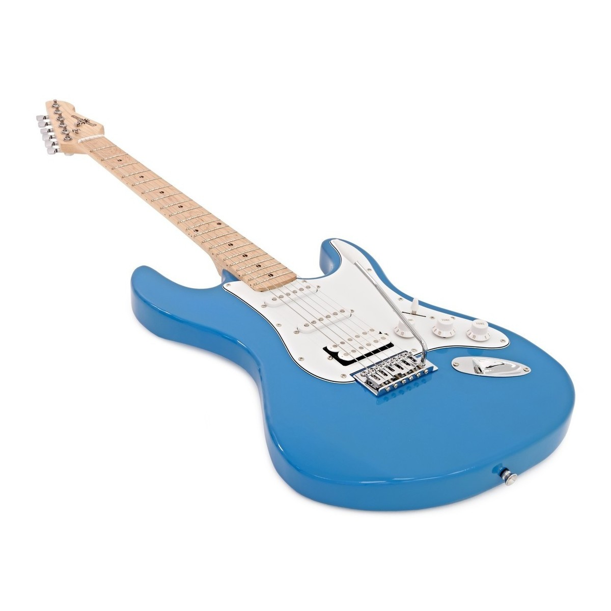 la ii electric guitar hss amp pack blue at gear4music. Black Bedroom Furniture Sets. Home Design Ideas