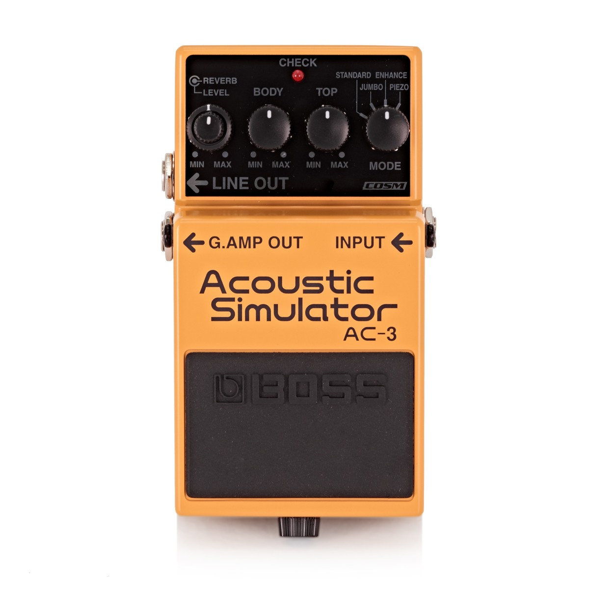 boss ac 3 acoustic simulator pedal at gear4music. Black Bedroom Furniture Sets. Home Design Ideas