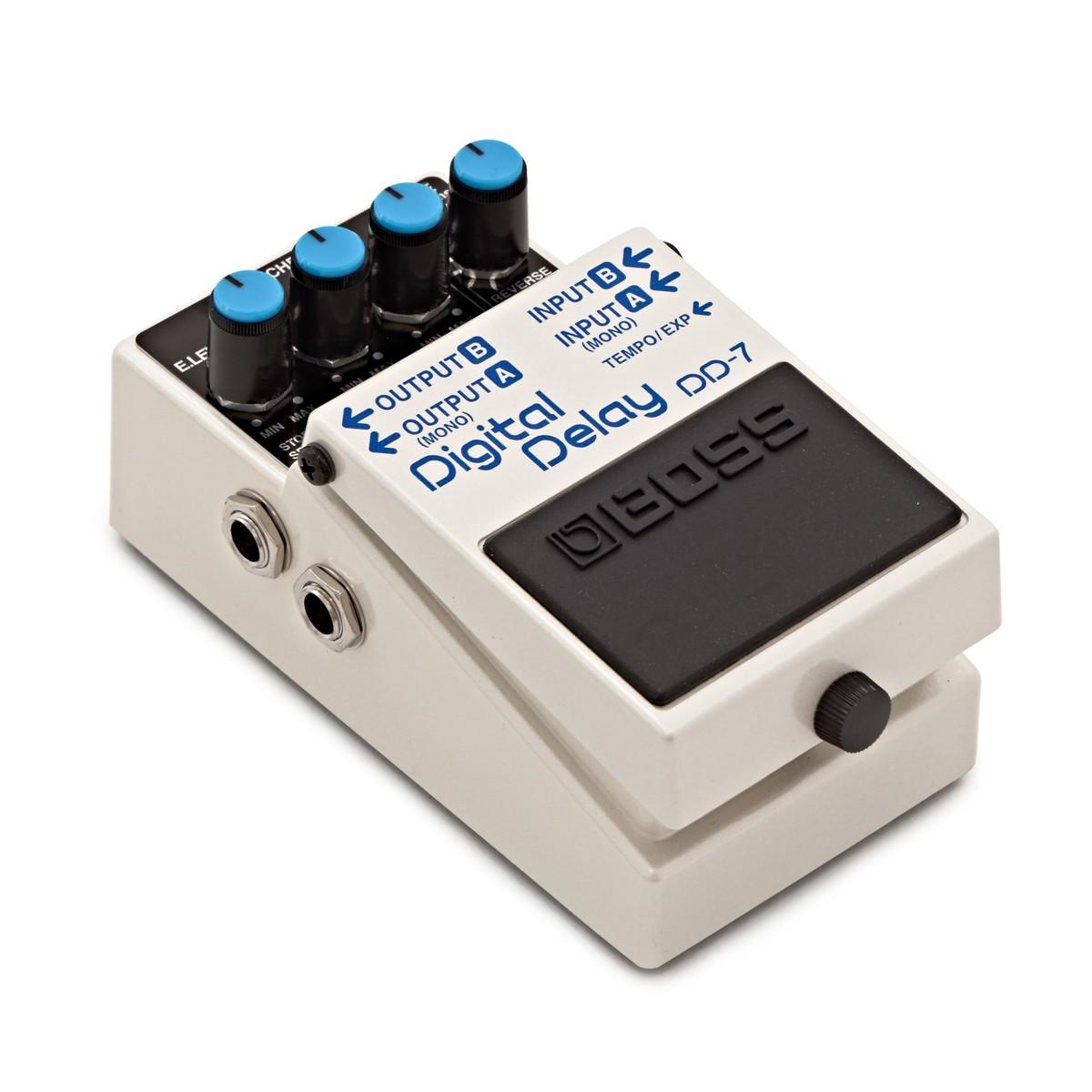boss dd 7 digital delay effects pedal at gear4music. Black Bedroom Furniture Sets. Home Design Ideas