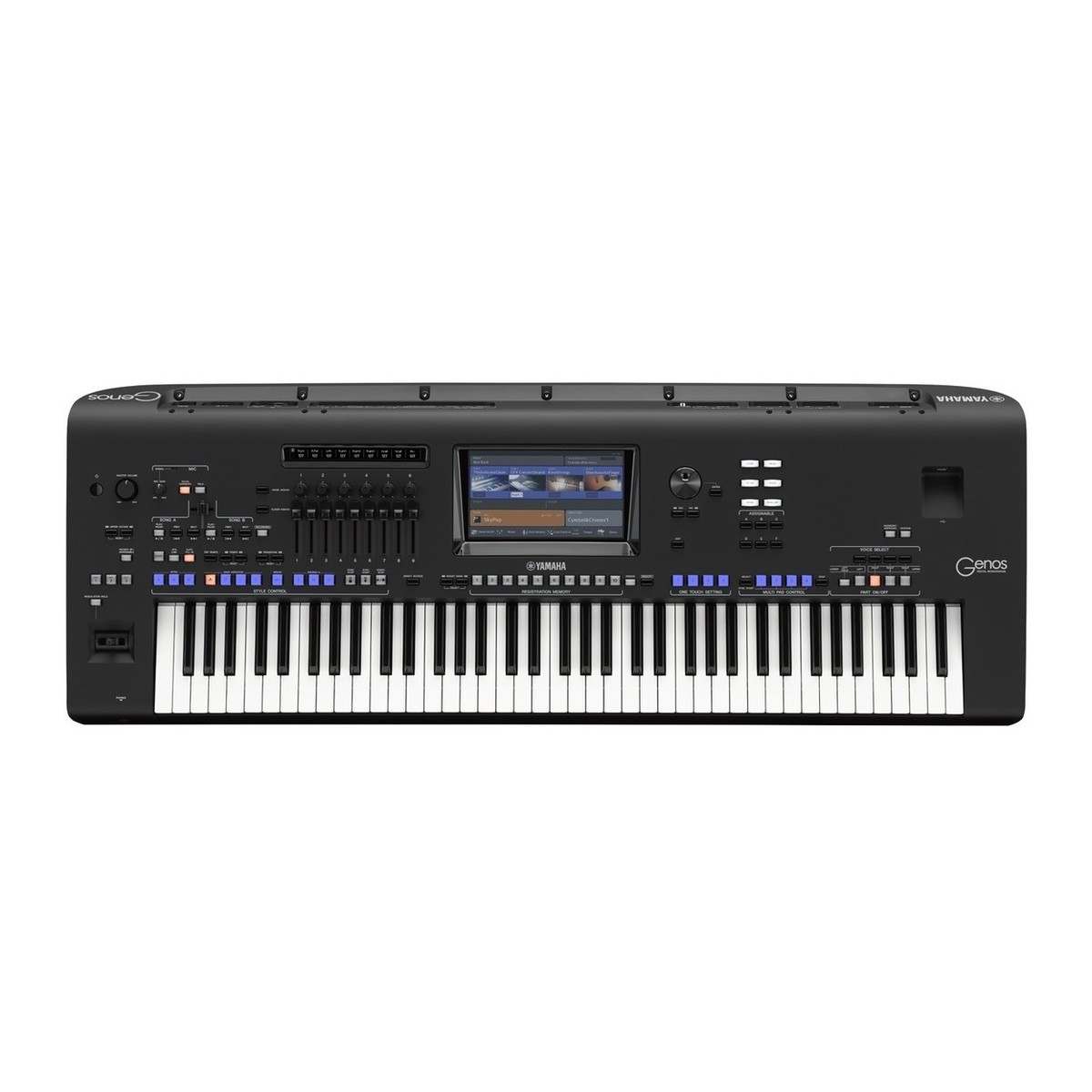 Yamaha genos xxl bundle at for Www yamaha keyboards