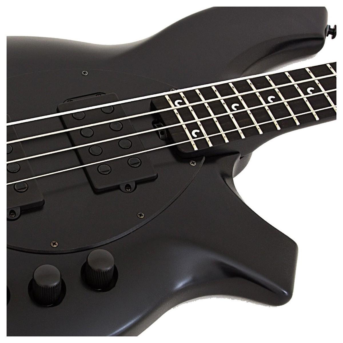 Music Man Bongo 4 Hh Bass Stealth Black At Gear4music