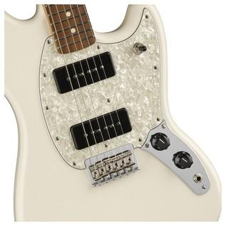 Fender Mustang 90, Pau Ferro, Olympic White