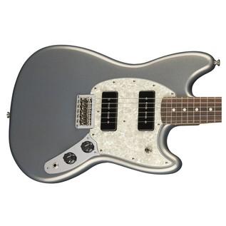 Fender Mustang 90 Guitar, Pau Ferro, Silver