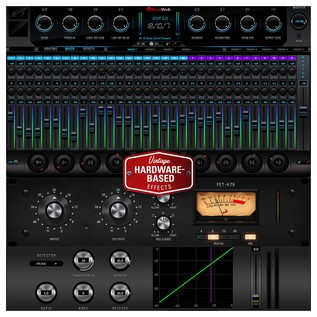 Antelope Audio Orion Studio HD - Reverb and Compressors