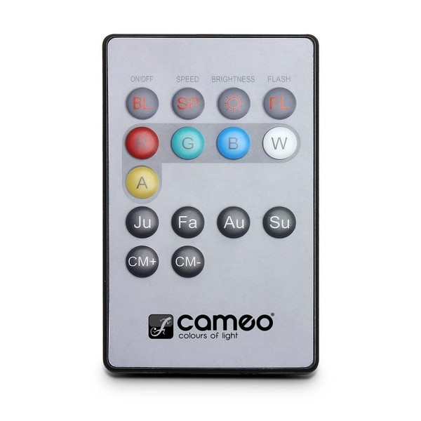 Cameo Flat Par Can Infrared Remote Control 1