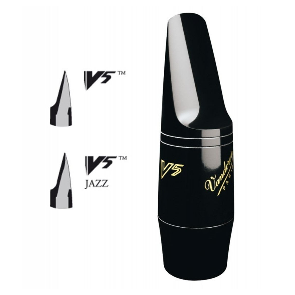 vandoren v5 a45 alto sax jazz mouthpiece at gear4music. Black Bedroom Furniture Sets. Home Design Ideas