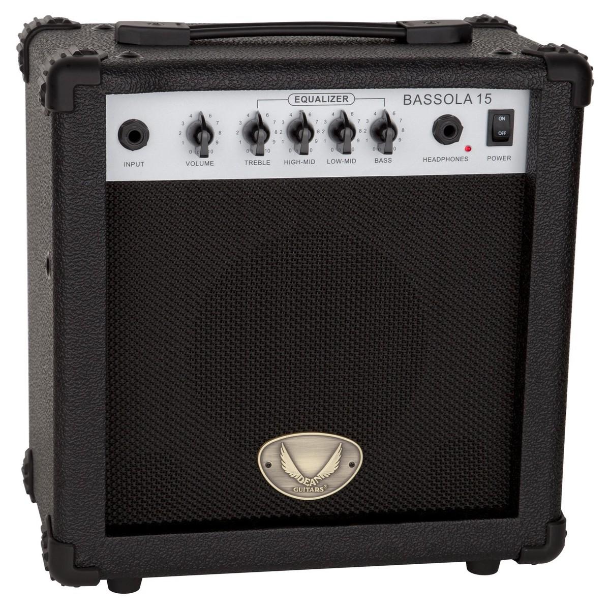 dean bassola 15 bass amp 15 watts at. Black Bedroom Furniture Sets. Home Design Ideas