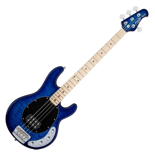 Sterling Ray34-Q Bass, Quilted Maple Neptune Blue