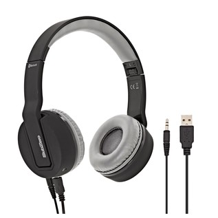SubZero SZ-H100 Bluetooth Wireless Headphones, Black