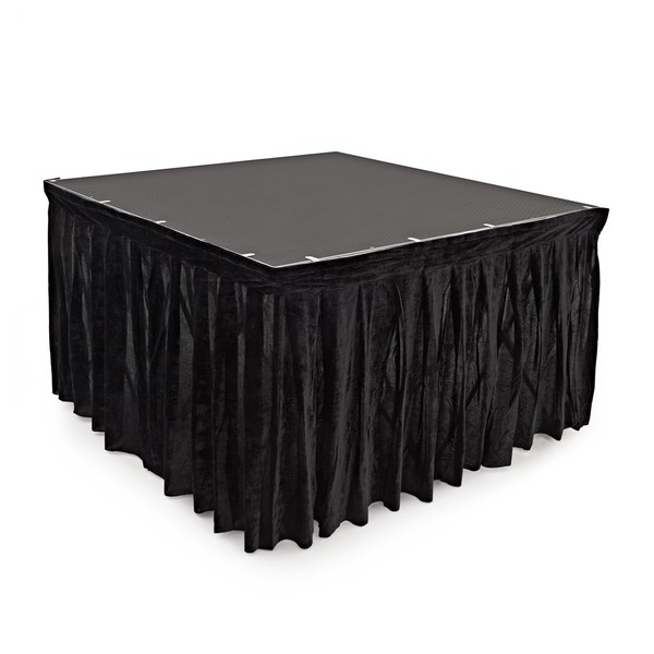 60cm x 200cm Staging Valance by Gear4music