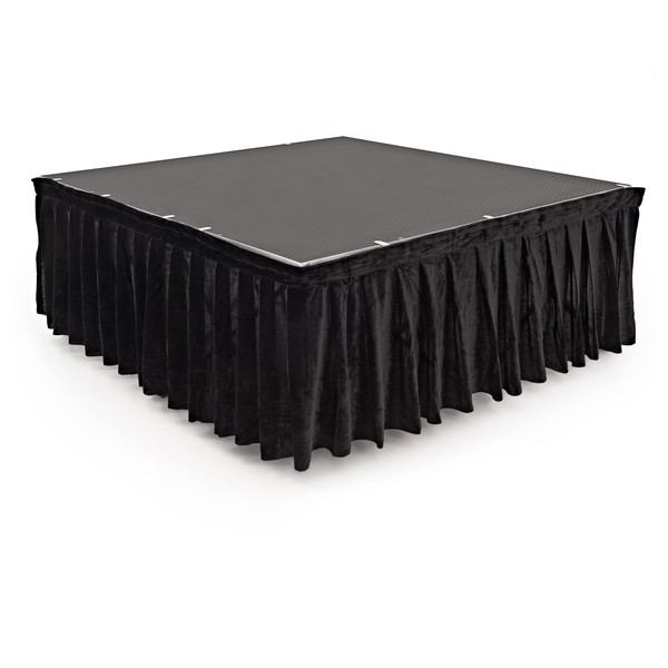 40cm x 200cm Staging Valance by Gear4music