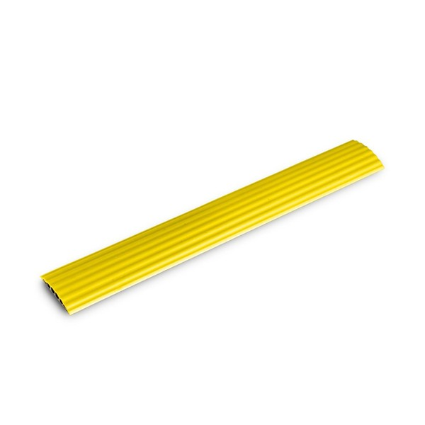 Defender Office 4-Channel Cable Duct, Yellow