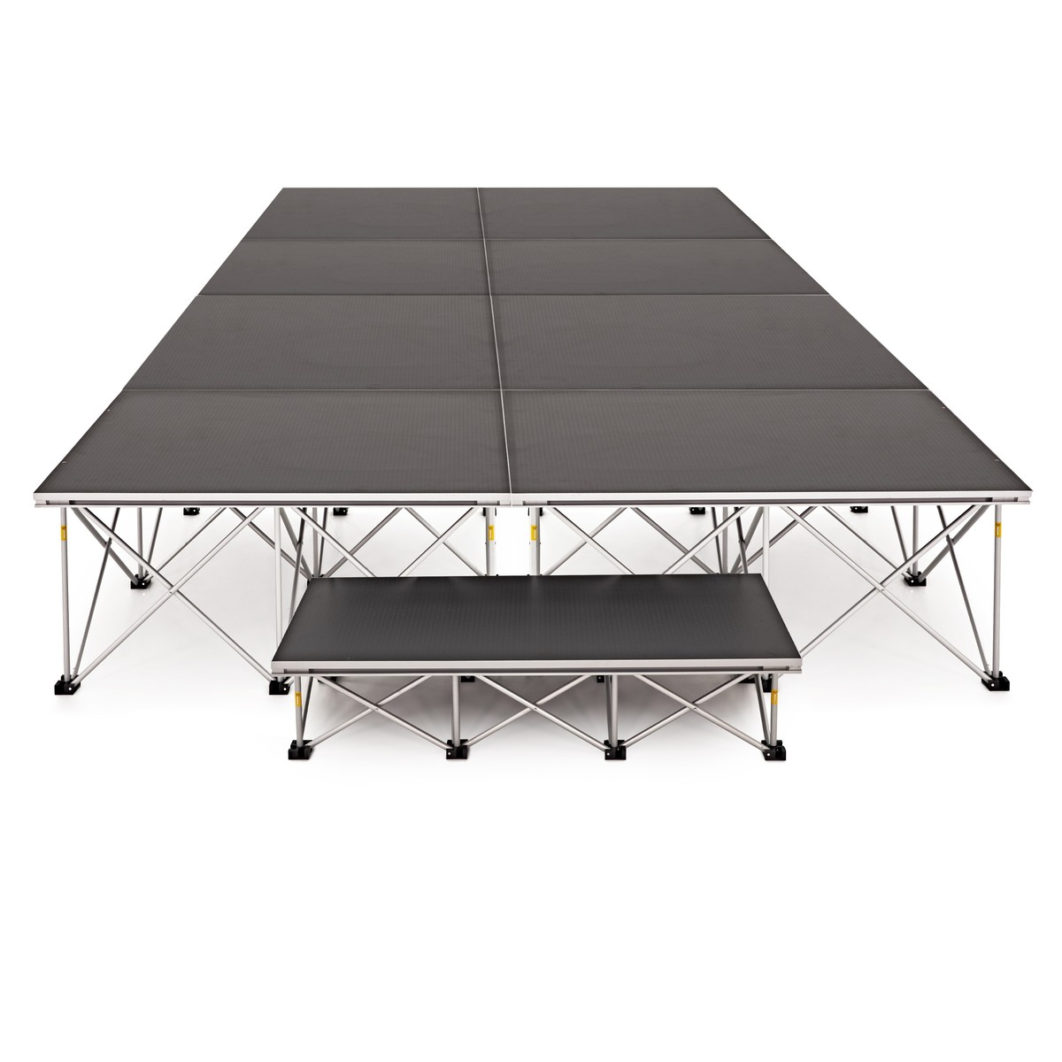 2m x 4m Portable Stage Kit by Gear4music 40cm