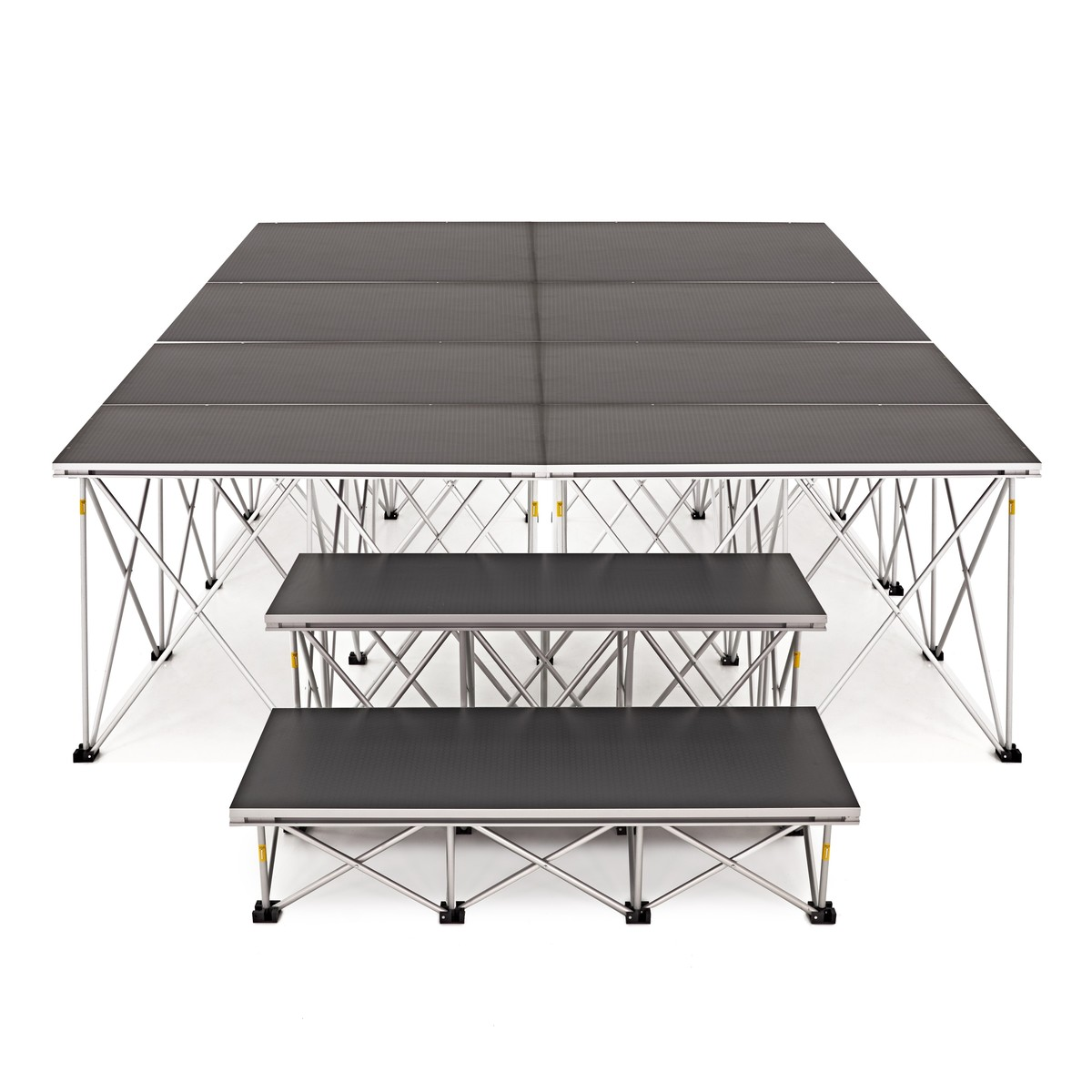 2m x 4m Portable Stage Kit by Gear4music 60cm