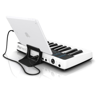 iRig Keys I/O 25 - Angled Rear (iPad Not Included)