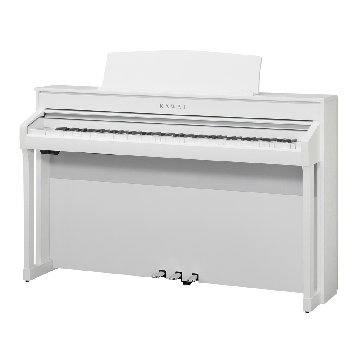 kawai ca98 digital piano satin white at gear4music. Black Bedroom Furniture Sets. Home Design Ideas