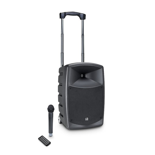 LD Systems Roadbuddy 10 Portable PA Speaker with Handheld Microphone